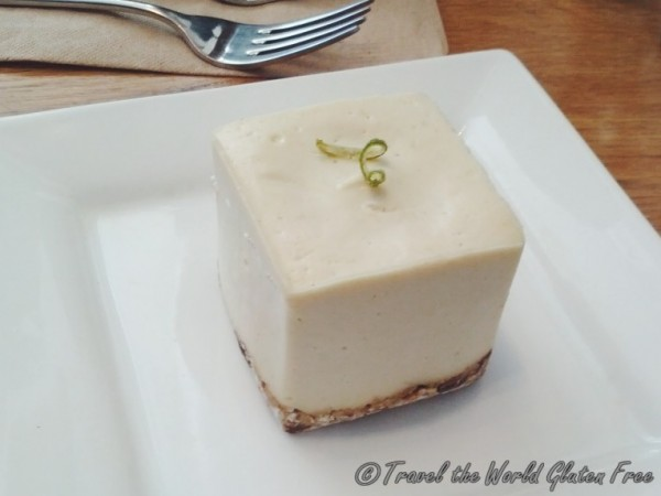 Rawlicious Key Lime Square