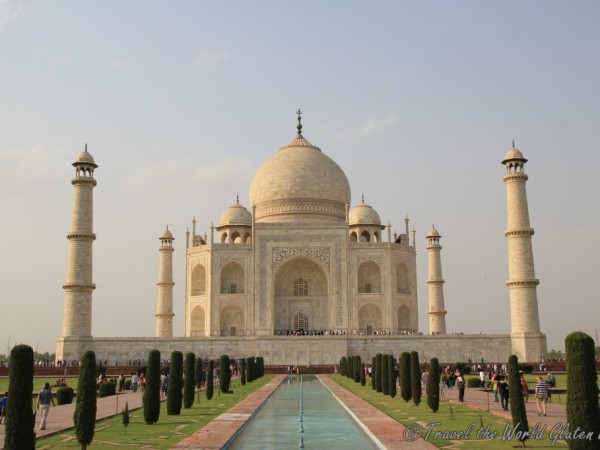 The beautiful Taj Mahal - no matter how many times you have seen its picture, nothing can prepare you for seeing it for the first time