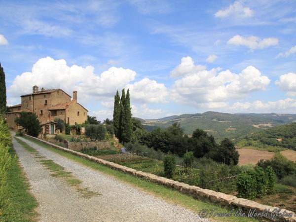 The beautiful Agriturismo Podere San Lorenzo