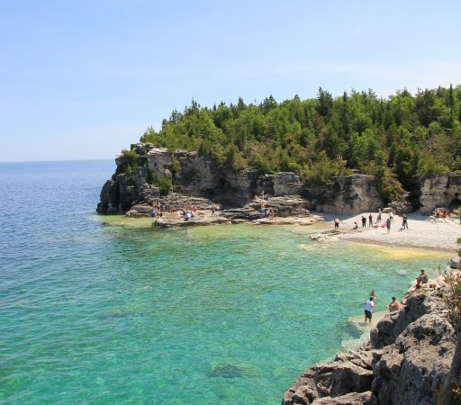 Beautiful views in Bruce Peninsula