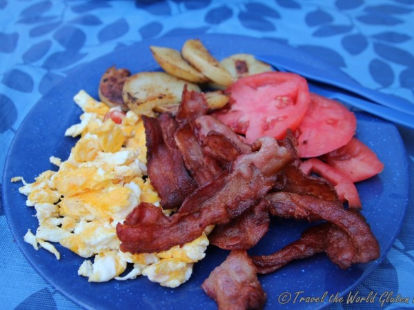 Bacon!!  What a great way to start off your day.