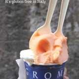 My Favourite Gelato in Italy! It's Gluten Free.