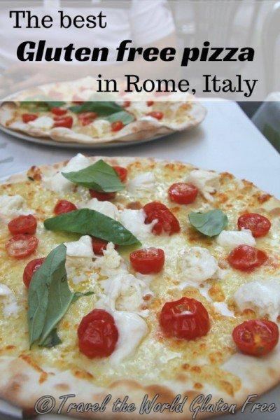 Best gluten free pizza Rome Italy