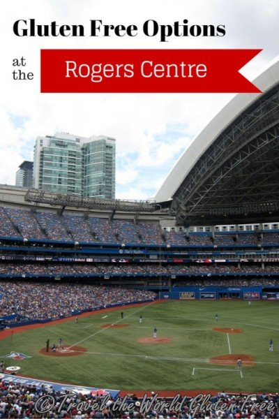 Gluten Free Options at the Rogers Centre