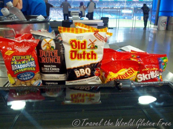Gluten Free Snacks at the Rogers Centre