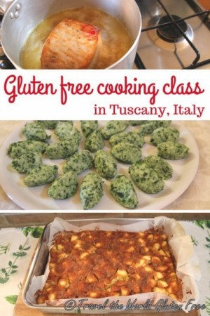 Gluten Free Cooking Class Tuscany