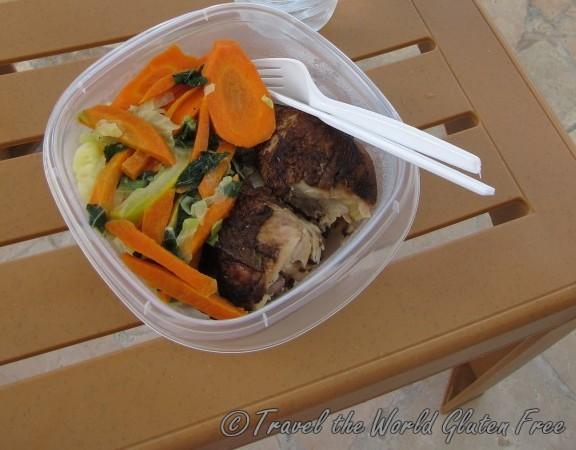 Jamaica Gluten Free Packed Lunch