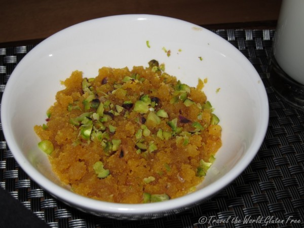 Moong dal halwa - it tastes better than it looks!