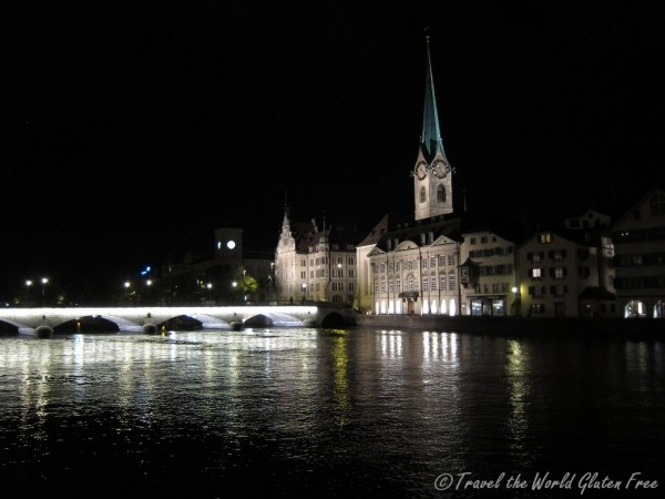 Beautiful night in Zurich