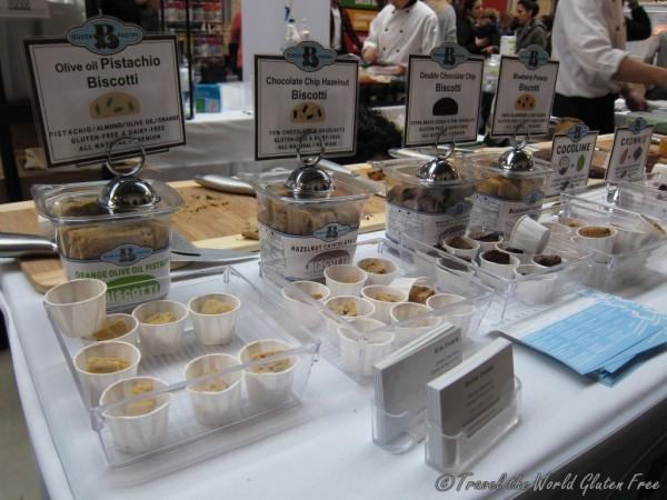 Queen B Pastry samples
