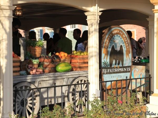 Fresh fruit at the Liberty Square Market