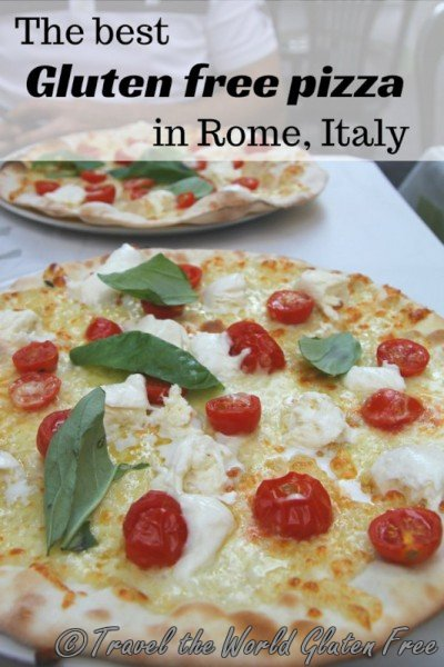 Best gluten free pizza Rome Italy