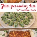 Gluten Free Cooking Class in Tuscany, Italy