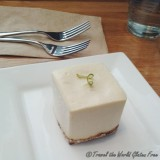 A Refreshing Raw Key Lime Square at Rawlicious